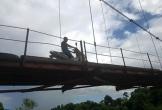 Hà Tĩnh: Thót tim đi qua cây cầu