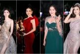 Dàn người đẹp khoe dáng trên thảm đỏ Hoa hậu Việt Nam 2018