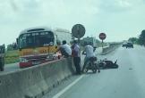 Nghệ An: Xe buýt Đông Bắc gây tai nạn trên quốc lộ 1A, làm 2 cha con nguy kịch