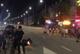 2 xe máy va chạm kinh hoàng trên Quốc lộ 12C, 4 người nguy kịch
