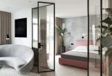 Phòng ngủ tường kính, tại sao không?