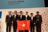 Việt Nam giành HC Vàng Olympic Tin học quốc tế 2018