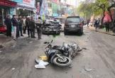 Danh tính tài xế ô tô gây tai nạn liên hoàn khiến 1 cụ bà tử vong