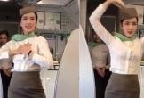Dân mạng phát sốt trước nhan sắc cực phẩm của nữ tiếp viên hàng không múa dẻo trên máy bay đang hot mấy ngày nay