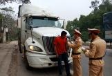 Phát hiện nhiều lái xe tải có nồng độ cồn