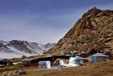Ngắm nhìn mùa đông điêu khắc cảnh tượng đẹp khó tin ở Mông Cổ