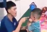 Clip: Kinh hoàng cảnh bé trai 3 tuổi bị thanh niên tát tới tấp vào mặt ở Tiền Giang