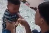 Người cha liên tục tát vào mặt bé 2 tuổi, vì nghi ngờ không phải con mình