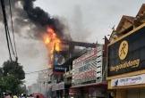 Quảng Bình: Cháy lớn ở siêu thị điện máy Dũng Loan, gây thiệt hại lớn