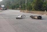 Hà Tĩnh: Va chạm với xe máy, cụ ông 70 tuổi đi nhặt ve chai bị hất văng hơn 15 m