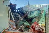 Xe container đâm sập nhà dân, một người tử vong tại chỗ
