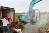 Hà Tĩnh: Tiêu hủy hơn 1 tấn mỡ bẩn đang trên đường ra Bắc tiêu thụ