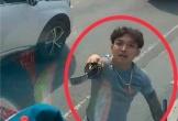 Nam thanh niên cầm kiếm chém cửa kính xe tải đã trình diện công an