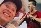 Nghệ sĩ Hoài Linh chúc mừng Tiến Linh mang lại chiến thắng cho tuyển Việt Nam