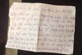 Bức thư tuyệt mệnh đau lòng của người phụ nữ nghi nhảy cầu tự tử