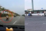 Đi xe máy vào khu vực cấm tại ga Nội Bài, người phụ nữ gặp nạn tử vong