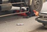 Lao thẳng vào gầm xe tải, người đàn ông bị cán tử vong ở Hưng Yên