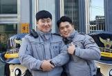 Cảnh sát Hàn Quốc đâm gẫy cả cổng trường để hộ tống thí sinh đi thi đại học muộn
