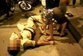 Thanh niên 9X chửi bới, ném kéo khiến Đại úy công an bị thương