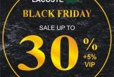 Black Friday 2019 – Mua sắm thả ga không lo về giá tại Lacoste Vinh