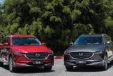 Bộ đôi Mazda CX-5 và CX-8 tiếp tục giảm giá