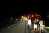 Va chạm với container, 2 thanh niên tử vong tại chỗ