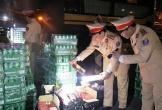 Hà Tĩnh: Bia, rượu ngoại nhập lậu trị giá hàng trăm triệu đồng liên tục bị phát hiện