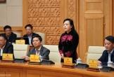 Nguyên Bộ trưởng Nguyễn Thị Kim Tiến xúc động phát biểu chia tay Chính phủ