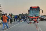 Nữ phụ xe chết thảm sau vụ TNGT liên hoàn trên cao tốc Hà Nội - Bắc Giang