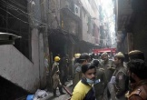 Hỏa hoạn kinh hoàng tại nhà máy Ấn Độ, ít nhất 43 người chết