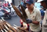 Phố cá lóc nướng Sài Gòn tất bật từ tờ mờ sáng ngày vía Thần Tài