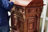 Đột nhập đình lấy trộm khám thờ Mẫu Liễu Hạnh 1.000 năm tuổi