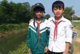 Hà Tĩnh: Đôi bạn thân học cấp 2 dũng cảm cứu 2 em nhỏ bị đuối nước
