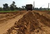 Hà Tĩnh: Nhà thầu thi công vật liệu không đúng thiết kế tại đường giao thông nông thôn