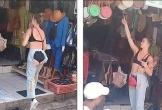 Mặc quần cắt trước xẻ sau đúng vùng nhạy cảm, cô gái khiến dân tình choáng váng