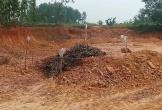 Phát hiện vật thể nghi bom khi đào đất làm công trình ở Hà Tĩnh