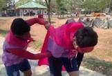 Xuân Trường hóa người nhện, tham gia thử thách 'bá đạo' ở Buriram