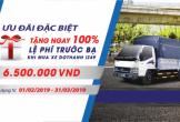 Dũng Lạc Auto khuyến mãi phí trước bạ xe tải Dothanh IZ49 Euro 4