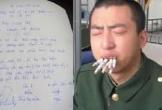 'Thưởng nóng' 20 triệu nếu chồng bỏ thuốc lá, bản cam kết gây bão dân mạng