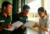 Tuyển sinh vào trường quân đội: Thẩm định danh sách thí sinh nhập học