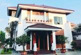 Á hậu Hoàng Hạnh xây biệt thự 700 m2 to nhất xã cho bố mẹ