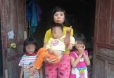 Người phụ nữ dị tật lay lắt nuôi 3 con nhỏ từng ngày