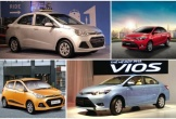 Toyota Vios và Hyundai Grand i10 là xe cũ được quan tâm nhất