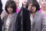 Mỹ nhân Hàn òa khóc ở sân bay vì bị nghi lộ clip sex với Jung Joon Young