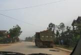 Hà Tĩnh: Xe quá tải hoành hành gây ô nhiễm, dân
