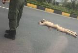 Một phụ nữ ngoại quốc nhảy cầu vượt tử vong tại sân bay Nội Bài