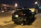 Hai ô tô rượt đuổi nhau trên đường gây tai nạn liên hoàn rồi bỏ chạy