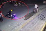 Tông vào hai cô gái, tên trộm xe máy bỏ của chạy lấy người