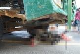 Va chạm với xe tải, một người phụ nữ tử vong thương tâm