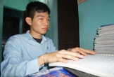 Hà Tĩnh: Nam sinh khiếm thị giành học bổng hơn 2 tỷ đồng của ĐH Fulbright